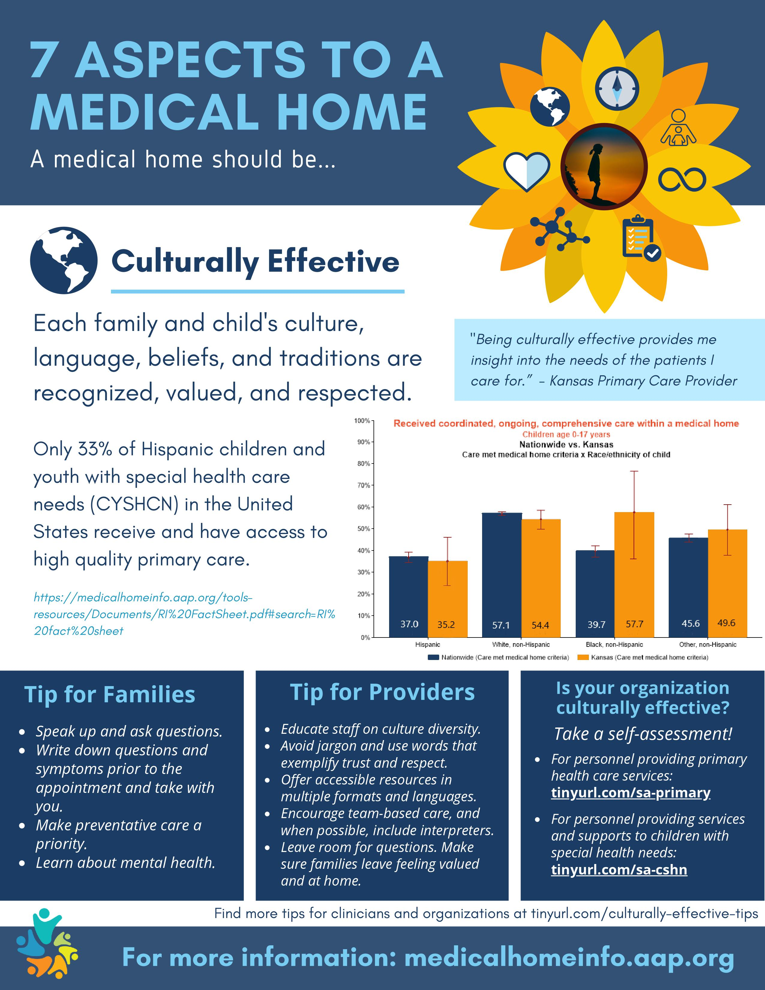 Medical home culturally effective flyer